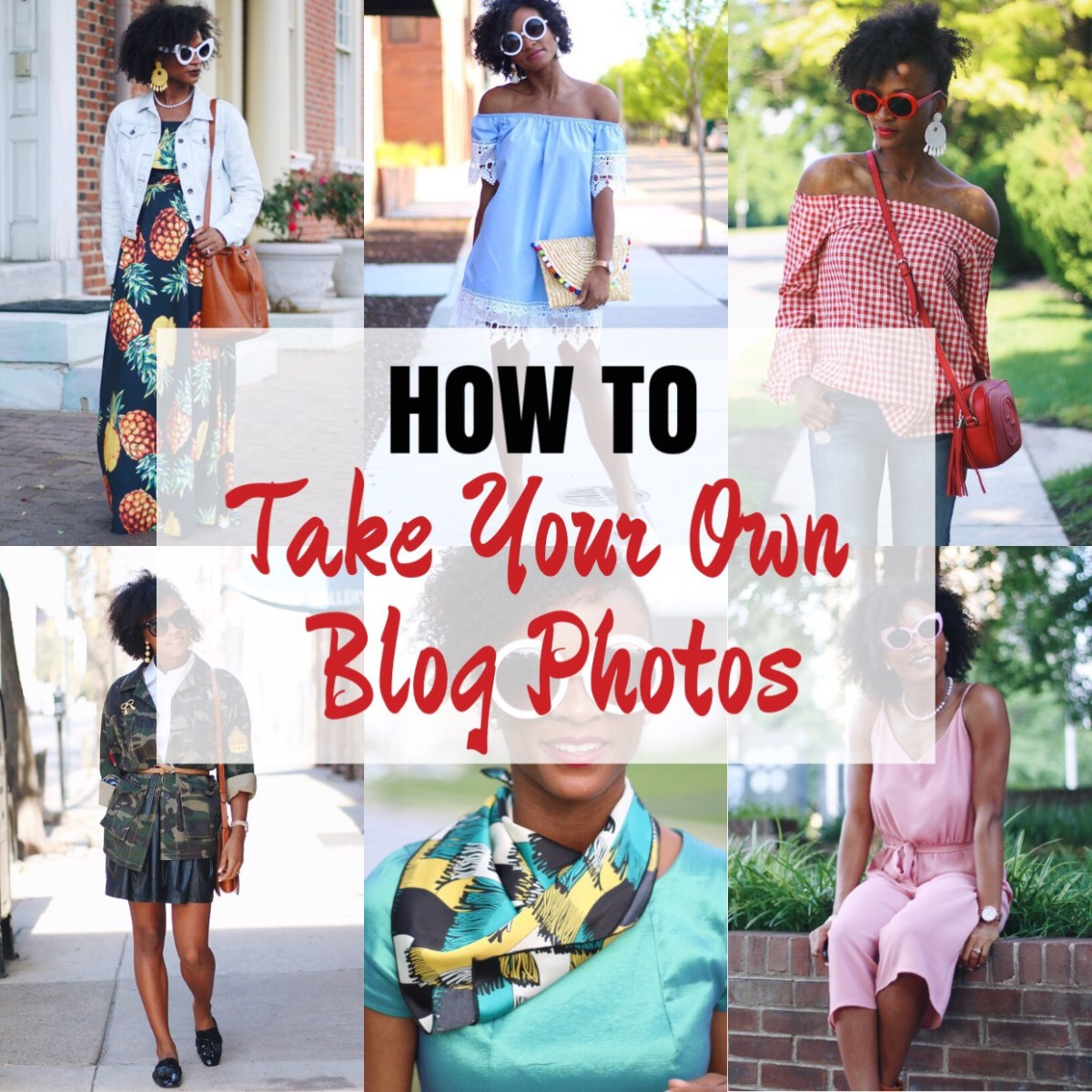 Take Your Own Blog Photos