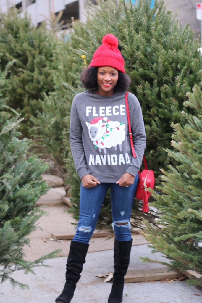 Christmas Tree Shopping Outfit9
