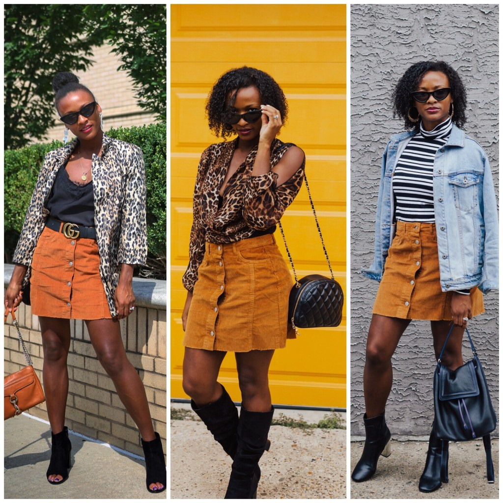 1 Skirt Worn 3 Ways