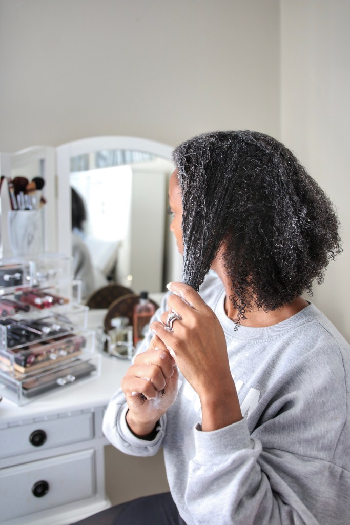 My Deep Condition Routine
