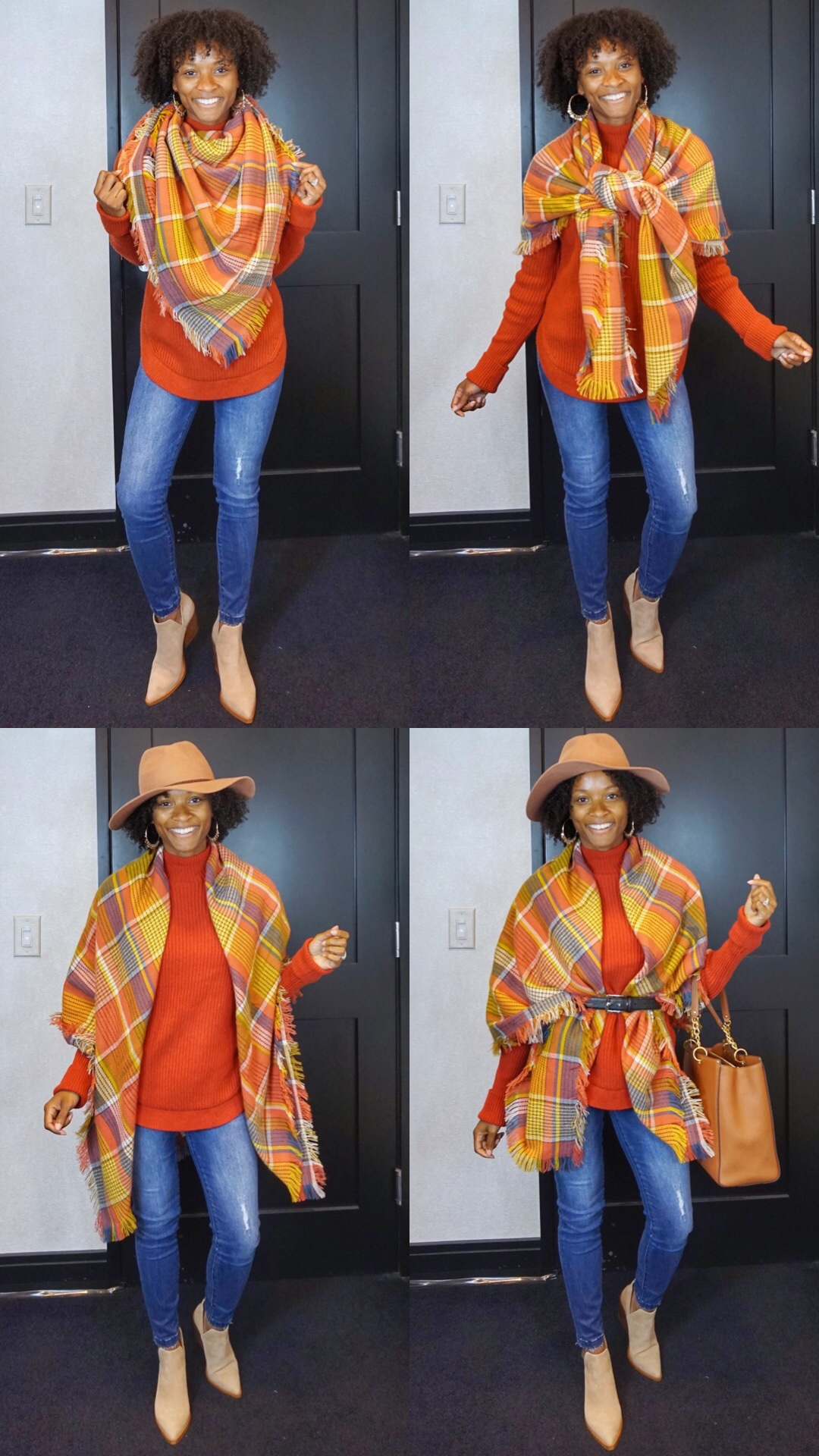 Video: 4 Ways To Style A Blanket Scarf #NSale Edition