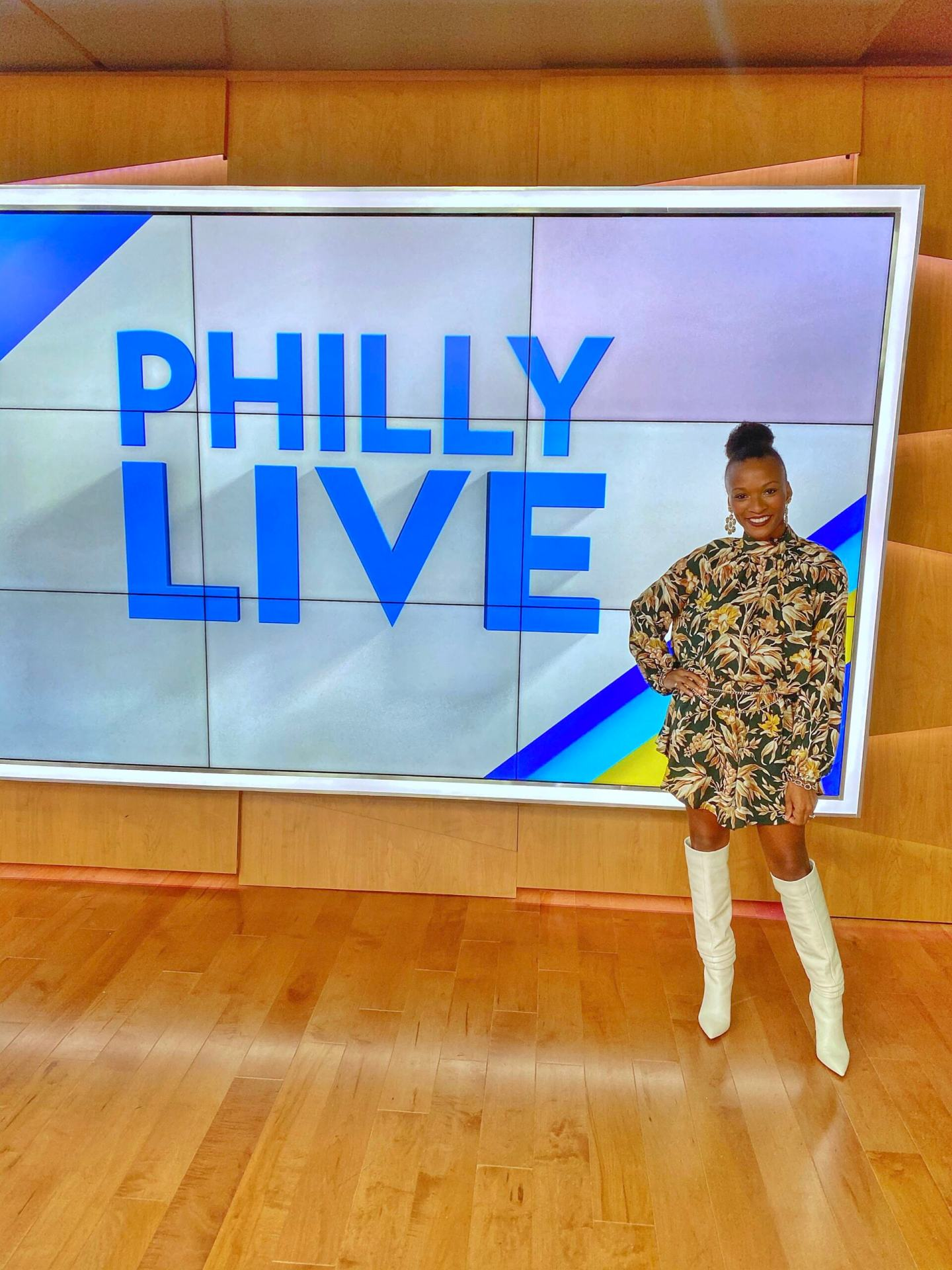 What I Wore On Philly Live