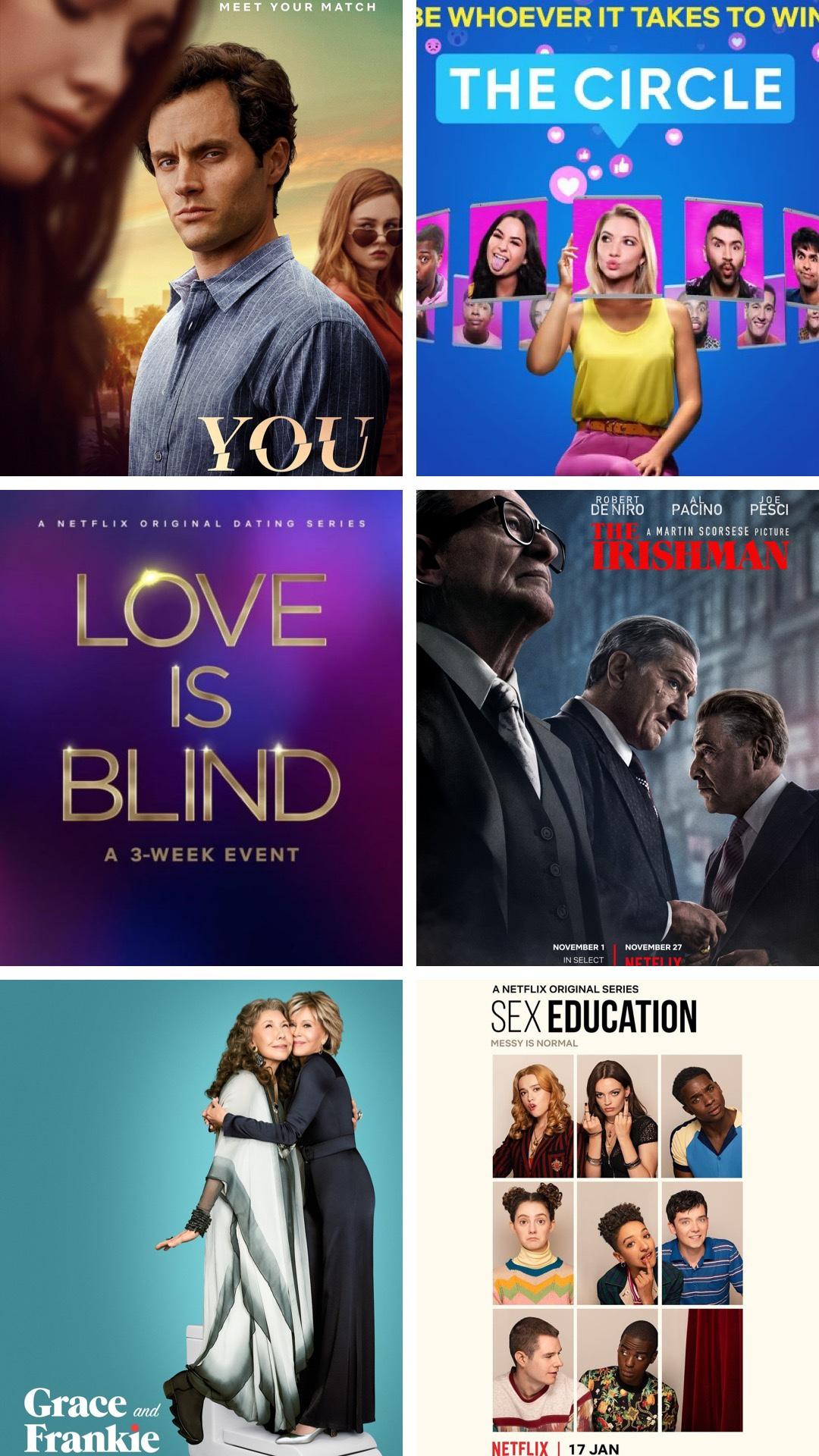 2020 Bingeworthy Netflix Shows