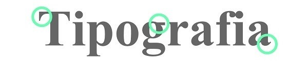 Tipografia: serifas