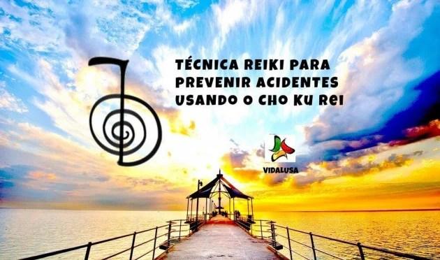 Técnica reiki para prevenir acidentes usando o Cho Ku Rei