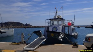 Barco Sirena III. Diving Center La Sirena