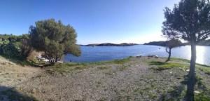 Bahía de Portlligat en Diciembre