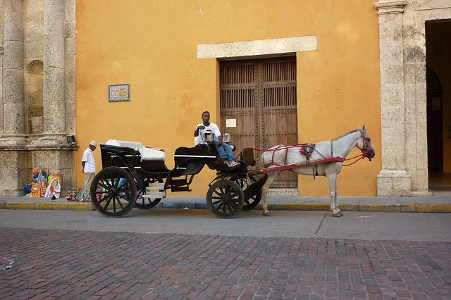 cochero en Cartagena