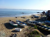 Fishing boats waiting their next journey to sea