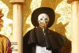 Masked youth