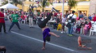 Gymnastics and hip hop dancing