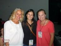 With Janet Blaser and Karina Ochoa Leyva (Ruta del Mango)
