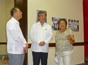 The Ambassador, Senator, and Mrs. Kasuga