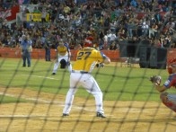 Julion at the plate