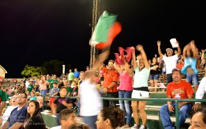 Our cheering section