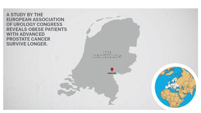 Map of Arnhem Netherlands
