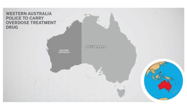 Map of Australia Western 2