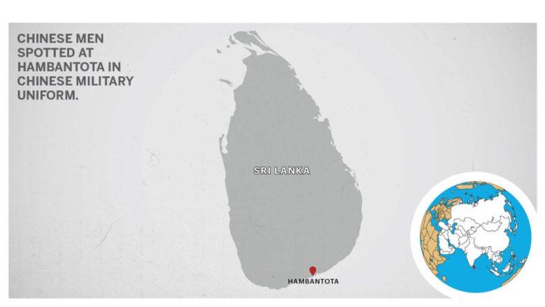 Map of Jaffna Sri Lanka