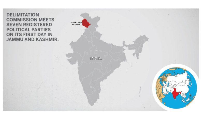 Map of Jammu and Kashmir