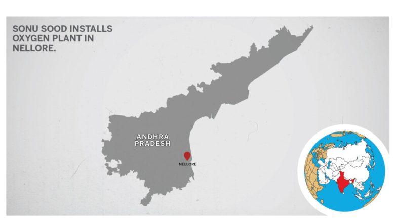 Map of Nellore