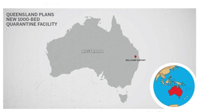 Map of Wellcamp Airport Queensland Australia