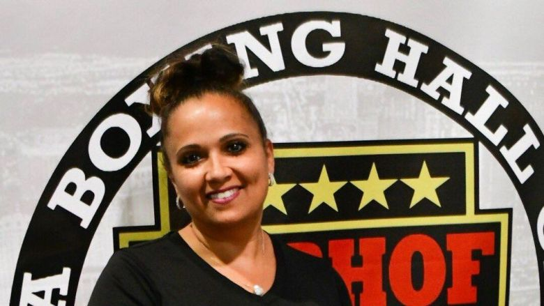 Michelle Corrales-Lewis is president of the Nevada Boxing Hall of Fame. (Nevada Boxing Hall of Fame)