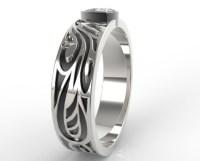 Trillion Cut Diamond Wedding Ring | Vidar Jewelry - Unique ...