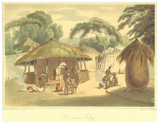 BARROW(1806)_p455_BOOSHUANA_VILLAGE