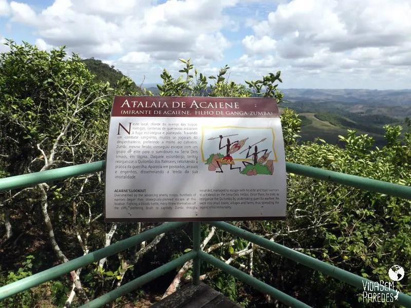 Atalaia de Acaiene - Parque Memorial Quilombo dos Palmares