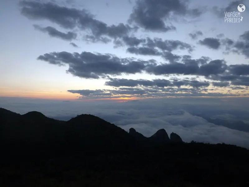 Visão da Pedra do Sino, 2.275 metros de altitude