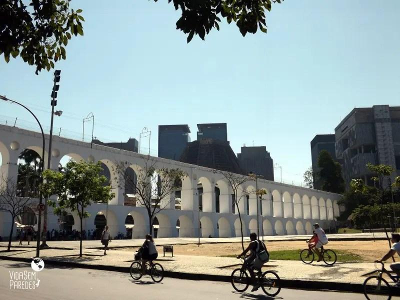 Atrações gratuitas no Rio de Janeiro - Arcos da Lapa