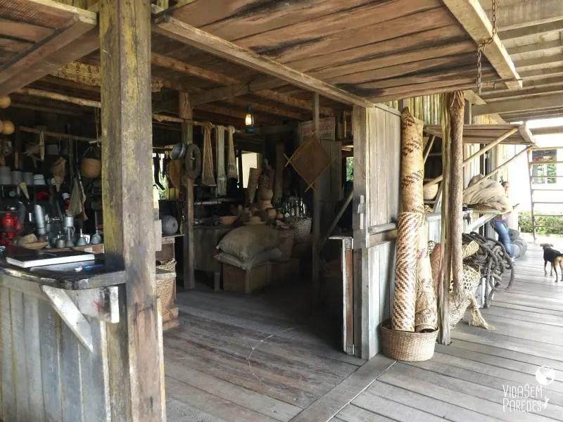Conheça o Museu do Seringal em Manaus