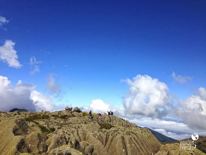 Trilhas na parte alta do Parque Nacional de Itatiaia