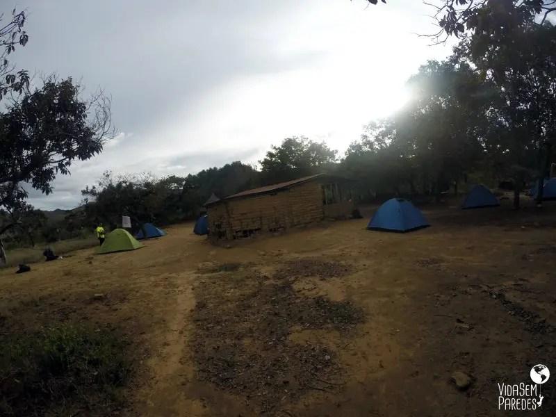 acampamentos no Monte Roraima : Kukenan
