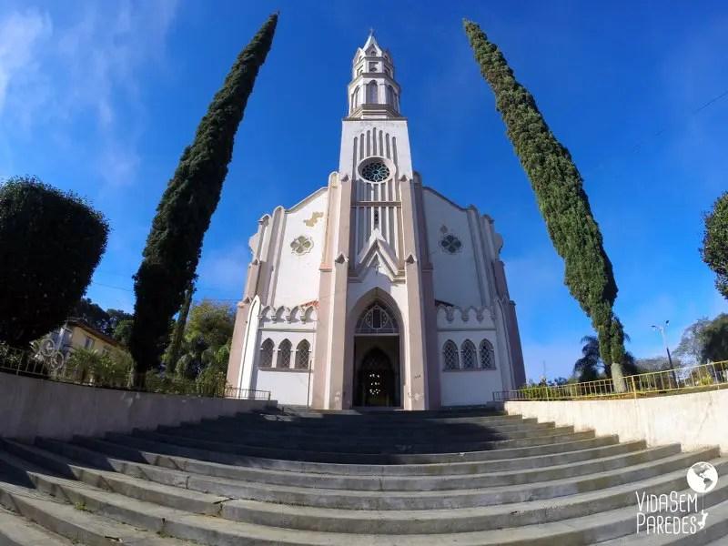 atrações culturais em Prudentópolis: Santuário Nossa Senhora das Graças