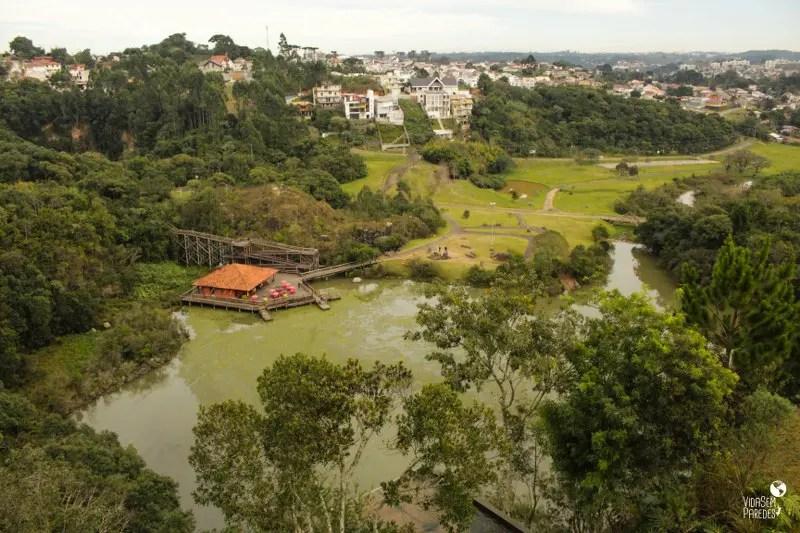 parques de Curitiba - Paraná: Tangá