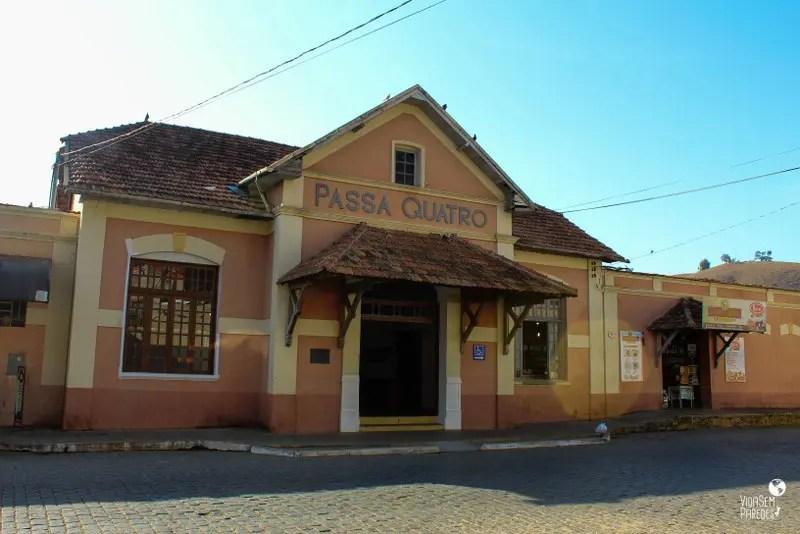 Passeio no Trem da Serra da Mantiqueira, Passa Quatro (MG)