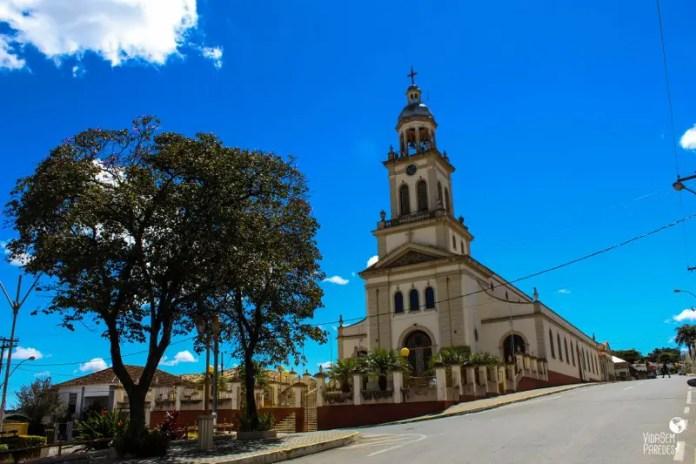 O que fazer em Cruzília, sul de Minas: Igreja Matriz de São Sebastião