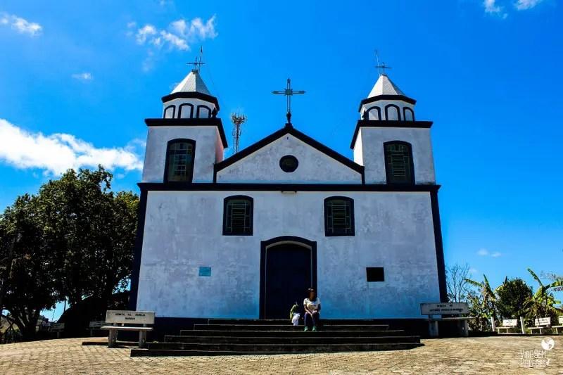 Santa Rita de Jacutinga - MG: Igrejinha do Alto
