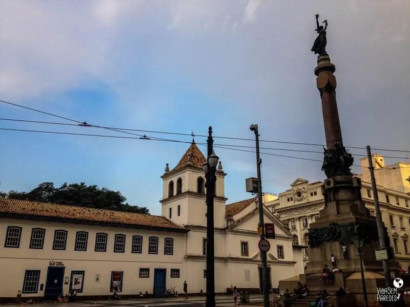 atrações para conhecer a pé no centro de São Paulo: Pateo do Collegio
