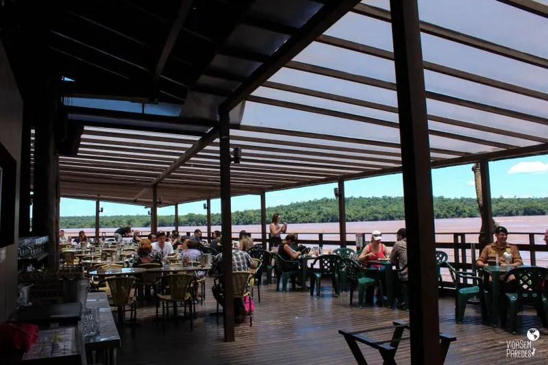 Parque Nacional do Iguaçu: Espaço Porto Canoas