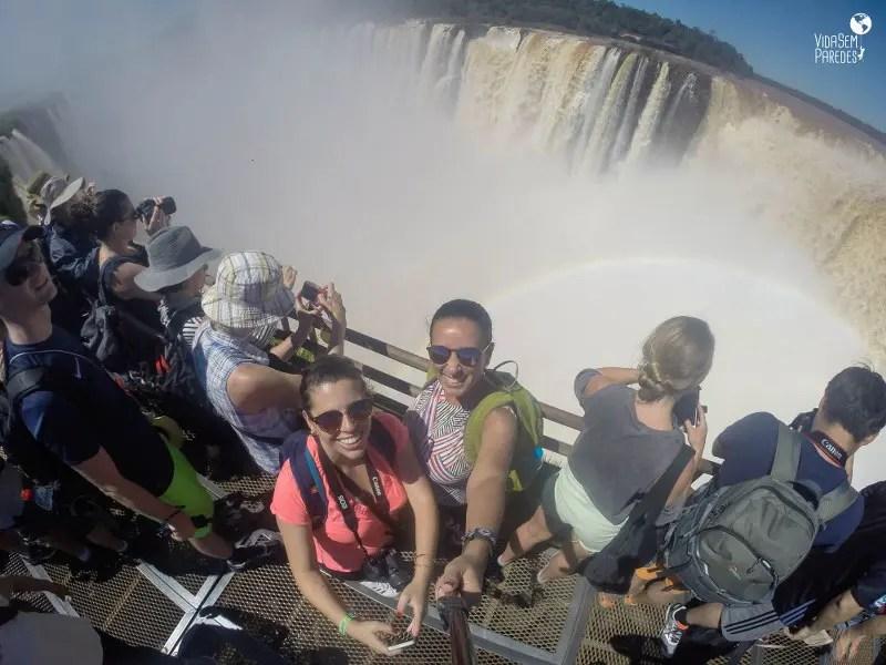 Parque Nacional Iguazú: cataratas Argentinas, Garganta del Diablo