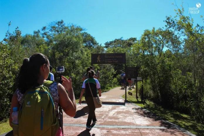 Parque Nacional Iguazú: cataratas Argentina, Sendero Verde