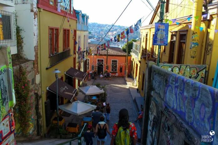 O que fazer em Valparaíso, Chile: cerros