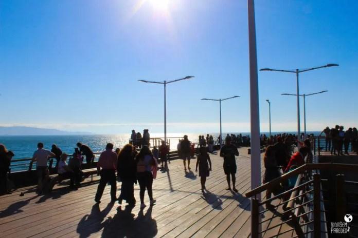 Melhores pontos turísticos em Viña del Mar, Chile: Muelle Vergara