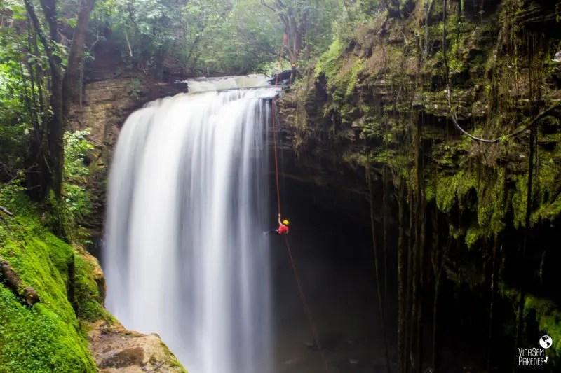 O que fazer em Mambaí, Goiás: cachoeira do Funil