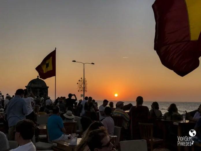 Cafe del Mar Cartagena Colombia