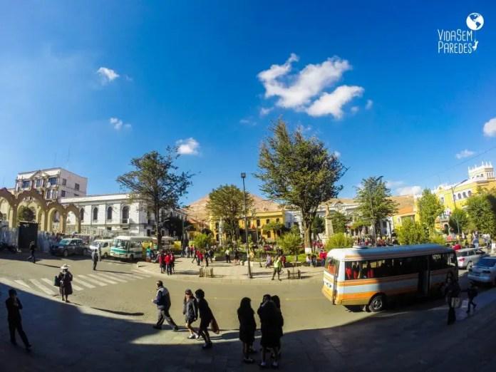 Plaza 10 de Noviembre Potosi
