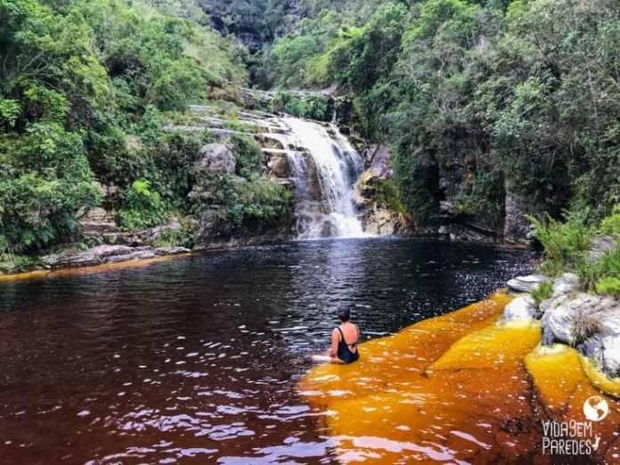 cachoeira dos macacos ibitipoca