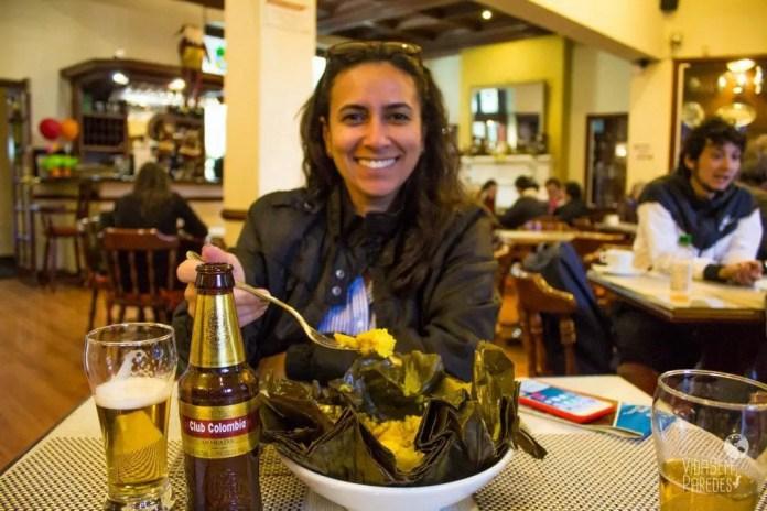 comidas colombianas tamales